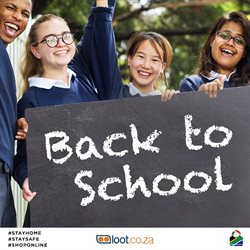 Back to school offers in the Loot catalogue ( 11 days left)