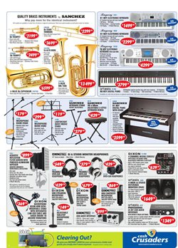 Piano offers in the Cash Crusaders catalogue in Cape Town