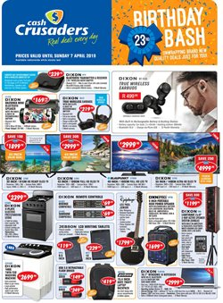 Electricals & Home Appliances offers in the Cash Crusaders catalogue in Cape Town