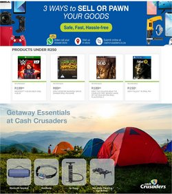 Electronics & Home Appliances offers in the Cash Crusaders catalogue in Cape Town ( 7 days left )