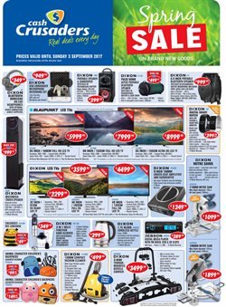 Cash Crusaders deals in the Durban special