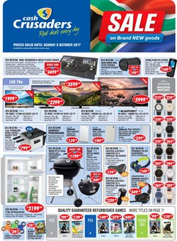 Cash Crusaders deals in the Cape Town special