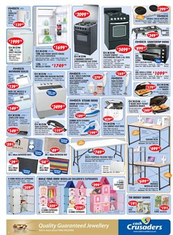 Washing machine offers in the Cash Crusaders catalogue in Cape Town