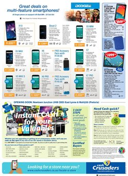 Airis tablet offers in the Cash Crusaders catalogue in Cape Town