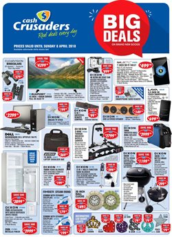 Cash Crusaders deals in the Johannesburg special