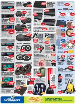 Storage media offers in the Cash Crusaders catalogue in Cape Town