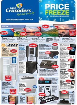 Cash Crusaders deals in the Pretoria special