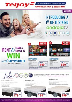 Teljoy deals in the Pretoria special