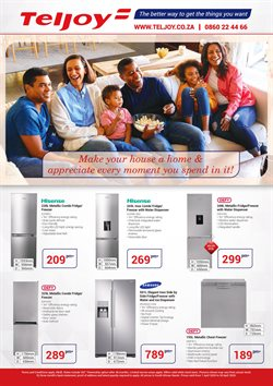 Electronics & Home Appliances offers in the Teljoy catalogue in Boksburg ( 3 days ago )