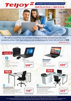 Electronics & Home Appliances offers in the Teljoy catalogue ( 26 days left )