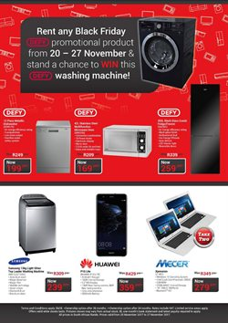 Washing machine offers in the Teljoy catalogue in Cape Town