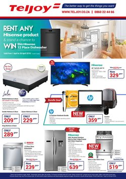 Electricals & Home Appliances offers in the Teljoy catalogue in Cape Town