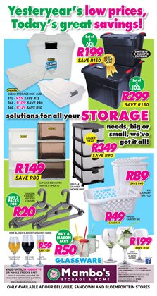 Mambo's Plastics Warehouse deals in the Khayelitsha special