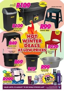 Mambo's Plastics Warehouse deals in the Vereeniging special
