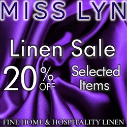 Miss Lyn offers in the Miss Lyn catalogue ( 9 days left)