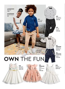 Sandals offers in the Edgars catalogue in Cape Town