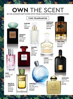 Perfume offers in the Edgars catalogue in Cape Town