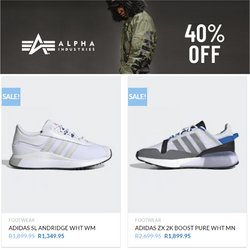 Adidas offers in the The Cross Trainer catalogue ( Expires today)