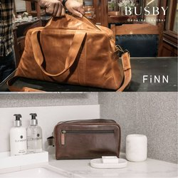 Busby Leather offers in the Busby Leather catalogue ( More than a month)