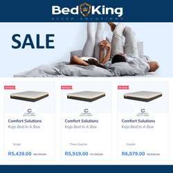 Bed King offers in the Bed King catalogue ( 1 day ago)