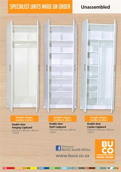 Doors offers in the BUCO catalogue in Cape Town