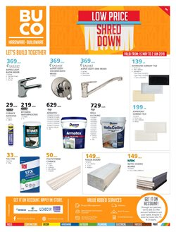 Tiles offers in the BUCO catalogue in Cape Town