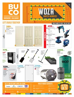 BUCO deals in the Durban special
