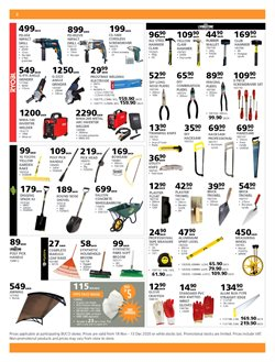 Garden tools specials in BUCO