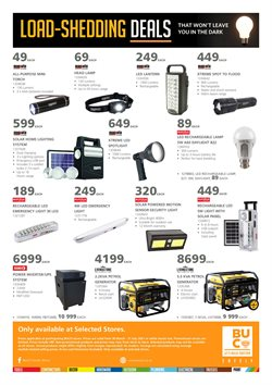 Electronics & Home Appliances offers in the BUCO catalogue ( More than a month )