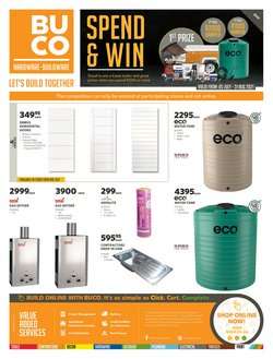 Electronics & Home Appliances offers in the BUCO catalogue ( 29 days left)