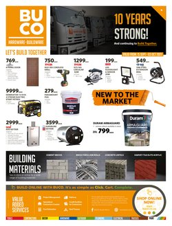 Electronics & Home Appliances offers in the BUCO catalogue ( 8 days left)