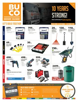 Home & Furniture offers in the BUCO catalogue ( 8 days left)