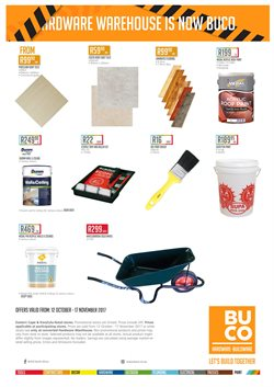 Tiles offers in the BUCO catalogue in East London