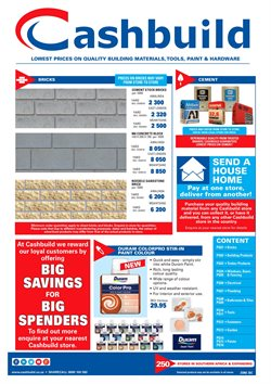 Tiles offers in the Cashbuild catalogue in East London