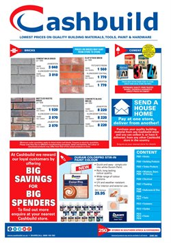 Tiles offers in the Cashbuild catalogue in Klerksdorp