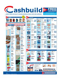 Cashbuild deals in the Johannesburg special
