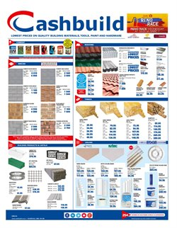 Cashbuild deals in the Soweto special