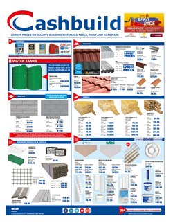 DIY & Garden offers in the Cashbuild catalogue in East London