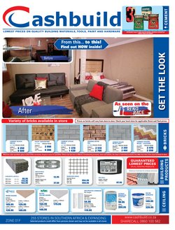 Cashbuild deals in the Pretoria special