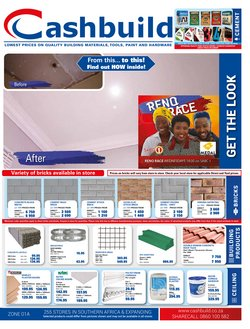 Cashbuild deals in the Roodepoort special