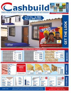 Cashbuild deals in the East London special