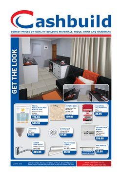 DIY & Garden offers in the Cashbuild catalogue in Port Elizabeth
