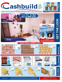 Cashbuild deals in the Lephalale special