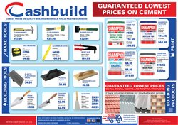 DIY & Garden offers in the Cashbuild catalogue in Durban