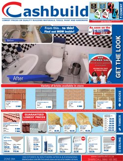 DIY & Garden offers in the Cashbuild catalogue in Durban ( 16 days left )