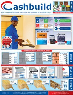 DIY & Garden offers in the Cashbuild catalogue in Cape Town ( 11 days left )