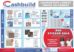 Cashbuild catalogue in Durban ( 3 days left )