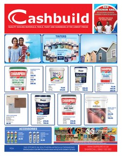 DIY & Garden offers in the Cashbuild catalogue ( Expires tomorrow )