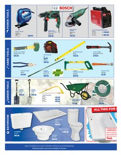 Bosch offers in the Cashbuild catalogue ( More than a month)