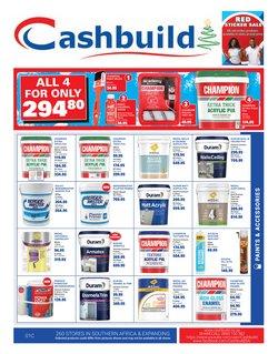 DIY & Garden offers in the Cashbuild catalogue in Pretoria ( 9 days left )